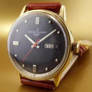 Ulysse Nardin Vintage Automatic with Day and Date - Black Dial - Circa 1960
