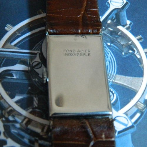 Ulysse Nardin Circa 1950 Rectangular Watch - Swiss Movement 15 Jewels