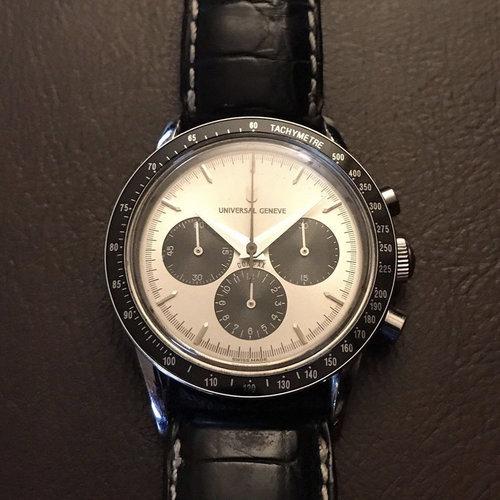 Universal Genève Compax Vintage Chronograph Watch Nina Jr