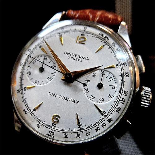 Universal Genève Uni-Compax Chronograph Caliber 285