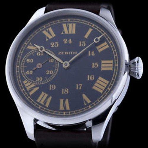 Zenith Circa 1920's Men's Swiss Watch Movement with New Custom Case