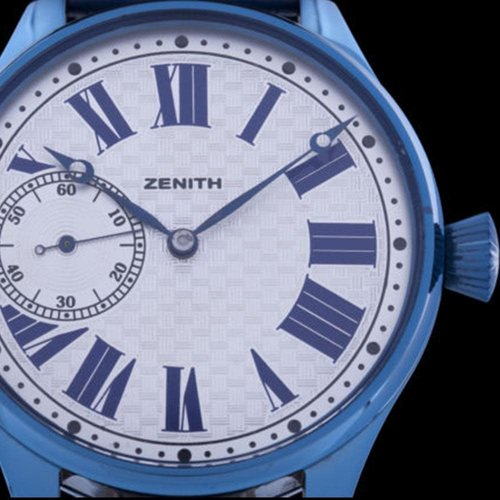 Zenith Circa 1920 Movement with New Custom Case