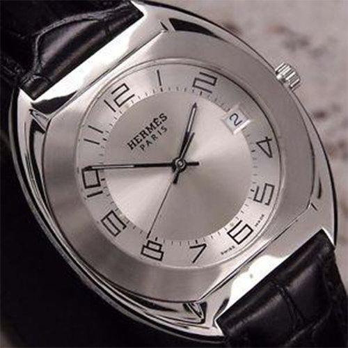 Hermès Paris Espace Date Ref.ES2.710 Silver Dial Quartz