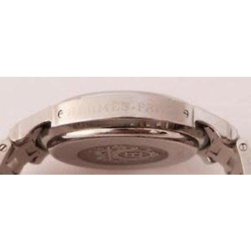 Hermès Clipper Chronograph SS Watch CL1.910. 38mm. Blue Dial