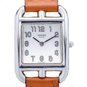 Hermès Cape Cod Watch on an Hermes Orange Strap