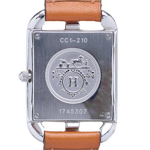 Hermès Cape Cod Watch on an Hermes Orange Strap