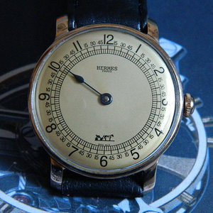 Hermès Extremely Rare One Hand Wristwatch