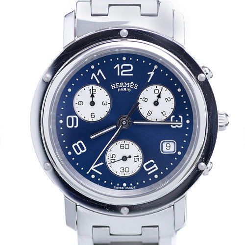 Hermès Clipper Chronograph Watch