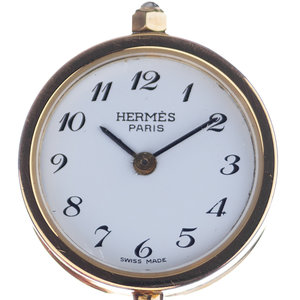 Hermès Secret Watch Pendent Necklace