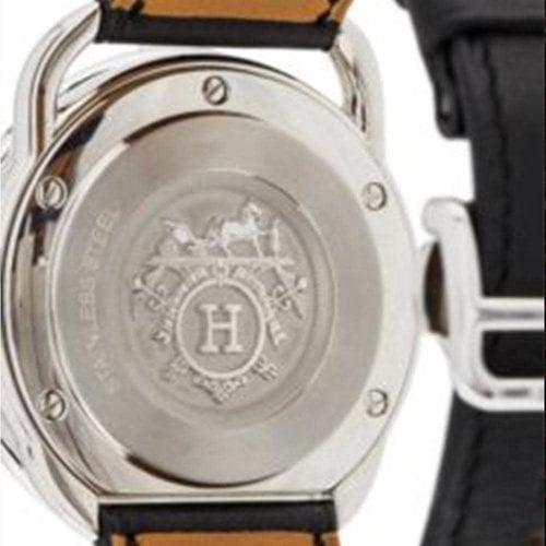 Hermès Paris Arceau SS White Dial Mens Automatic 41mm