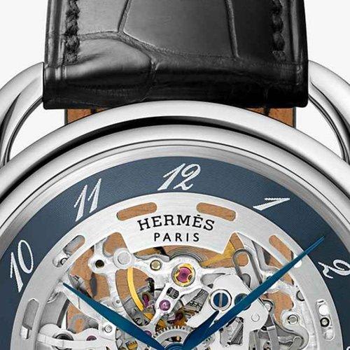 Hermès Arceau Squelette Blue Skeleton
