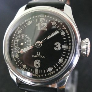 Omega Circa 1920 Military Pilot Watch - 42mm with 15 Jewels