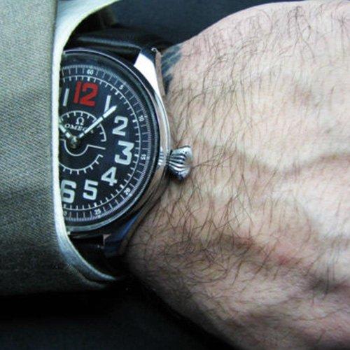 Omega Large Antique Pilot Watch - Circa 1930