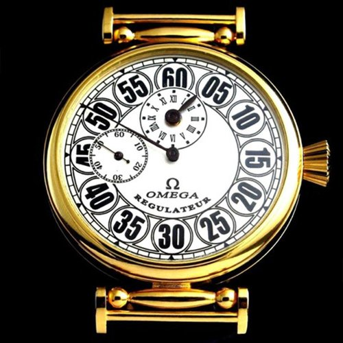 Omega Vintage Gold Men's Regulator