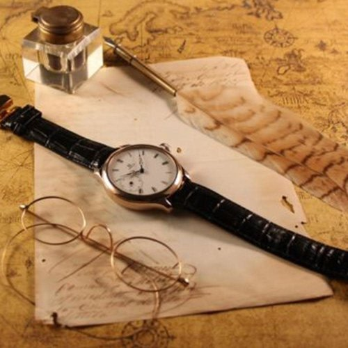 Omega Stunning 1925 Signed Movement with Custom Rose Gold Case
