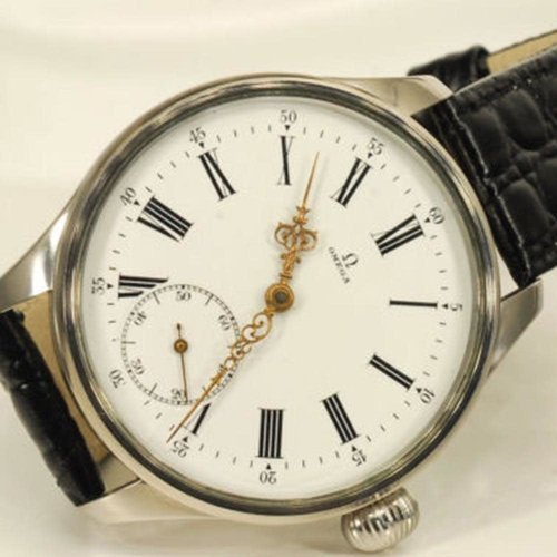 Omega Movement Circa 1900 and Immaculately Preserved with New Custom Case
