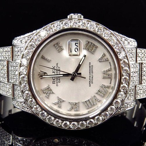Rolex Diamond Encrusted