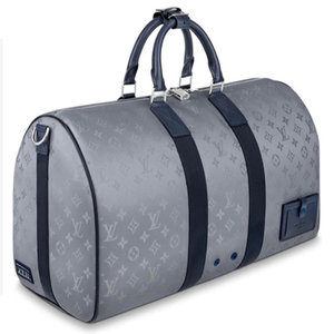 Louis Vuitton Satellite Galaxy Monogram Keepall Bandouliere 50