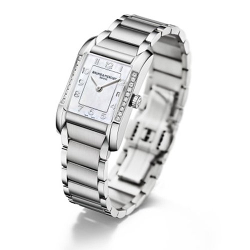 Baume & Mercier Hampton Mother of Pearl Dial Stainless Steel