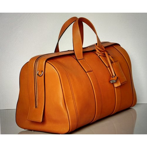 Bottega Veneta Classic Soft Duffle Bag in Smooth French Calf