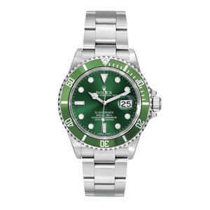 Rolex Submariner Steel 16610 Custom Green