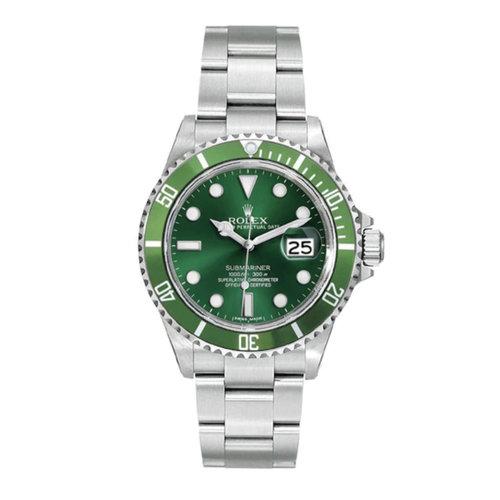 Rolex Submariner Steel 16610 Custom Green