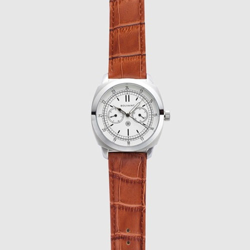 Bolvaint Vitus in White - A Field Watch Inspired by Cartographer and Explorer, Vitus Bering