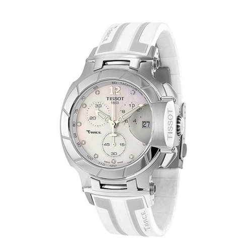 Tissot T-Race Chronograph Mother of Pear Dial
