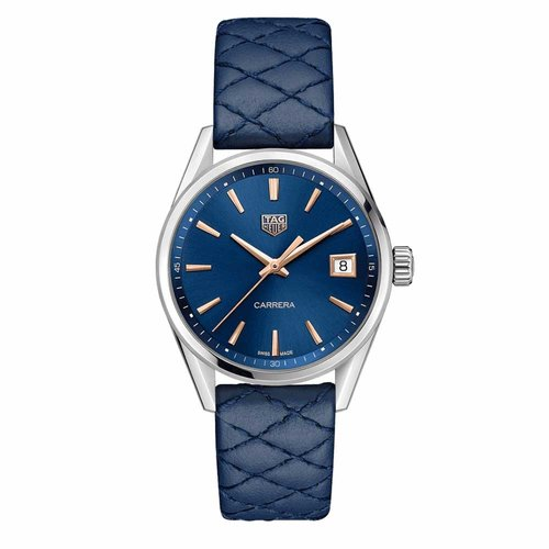TAG Heuer TAG Heuer - Carrera Blue Dial 39MM with Quilted Strap