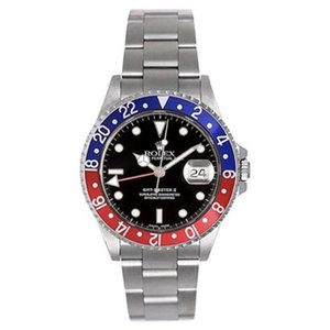 Rolex GMT Master-II  Blue/Red 16710 Pepsi
