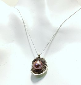 Becca Paisley Stabach Purple Edison Freshwater Pearl Necklace