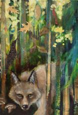 Jennifer Cook-Chrysos Chrysos Designs Artworks, Fine Art Print-Coytote, 16 x 20