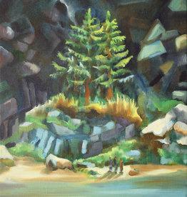 Jennifer Cook-Chrysos Chrysos Designs Artworks, Fine Art Print-Coast Trees, 16 x 20