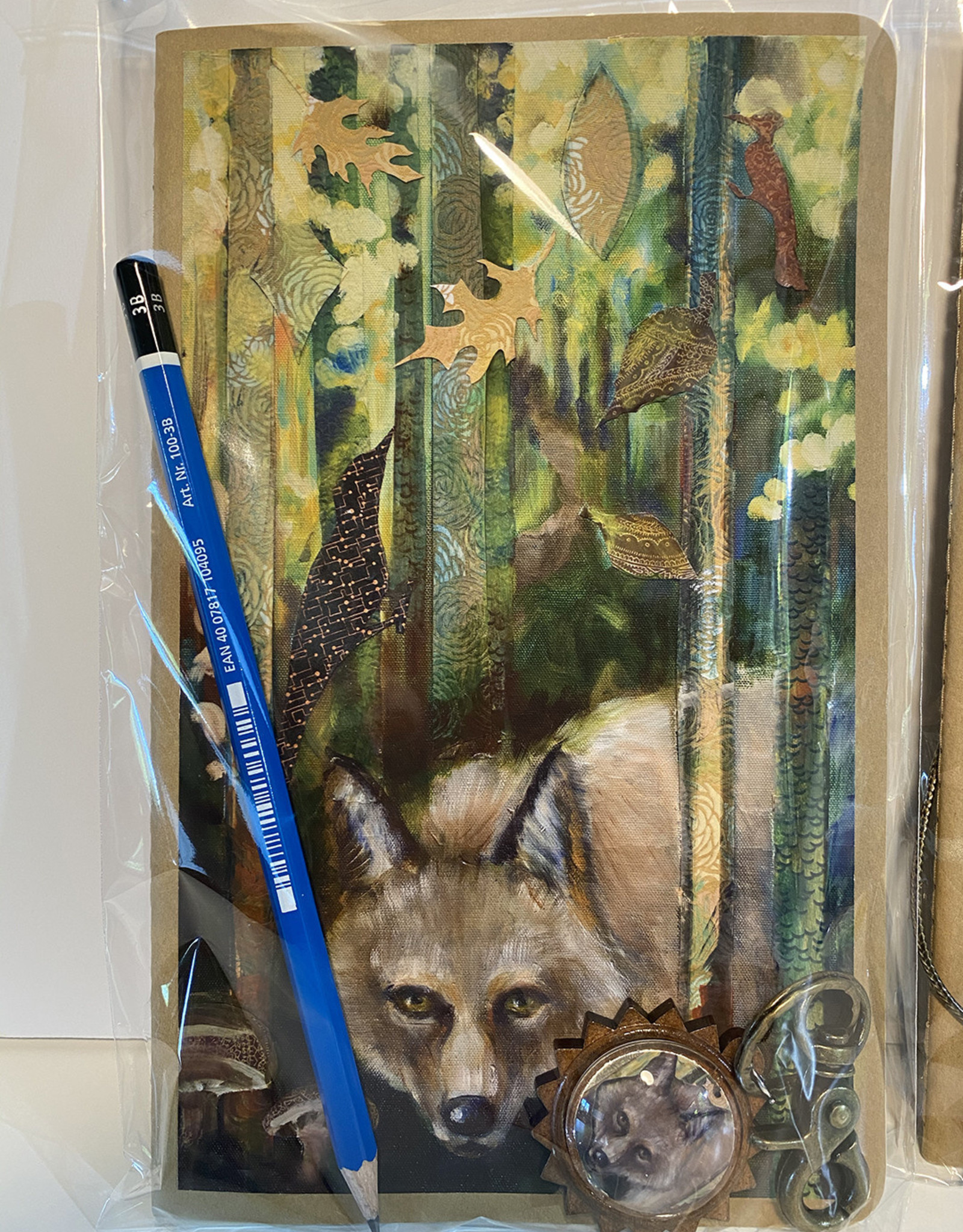 Jennifer Cook-Chrysos Chrysos Designs Artworks Sketchbook-Coyote
