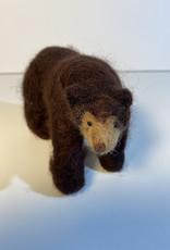 Jennifer Cook-Chrysos Chrysos Designs Artworks, felted Black Bear, large