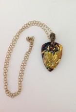 Ann Mackiernan Fused Glass Pendant - Large - L8