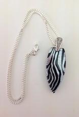 Ann Mackiernan Fused Glass Pendant - Large - L10