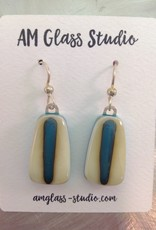 Ann Mackiernan Fused Glass Earrings X-Large - XL2