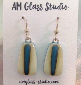 Ann Mackiernan Fused Glass Earrings X-Large - XL2