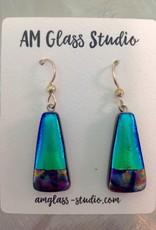 Ann Mackiernan Fused Glass Earrings X-Large - XL3