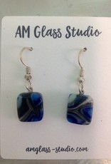 Ann Mackiernan Fused Glass Earrings Small - S2