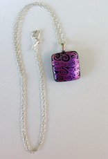 Ann Mackiernan Fused Glass Medium Pendant - M2