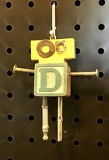 Karen Friedstrom Alphabits:  Letter D