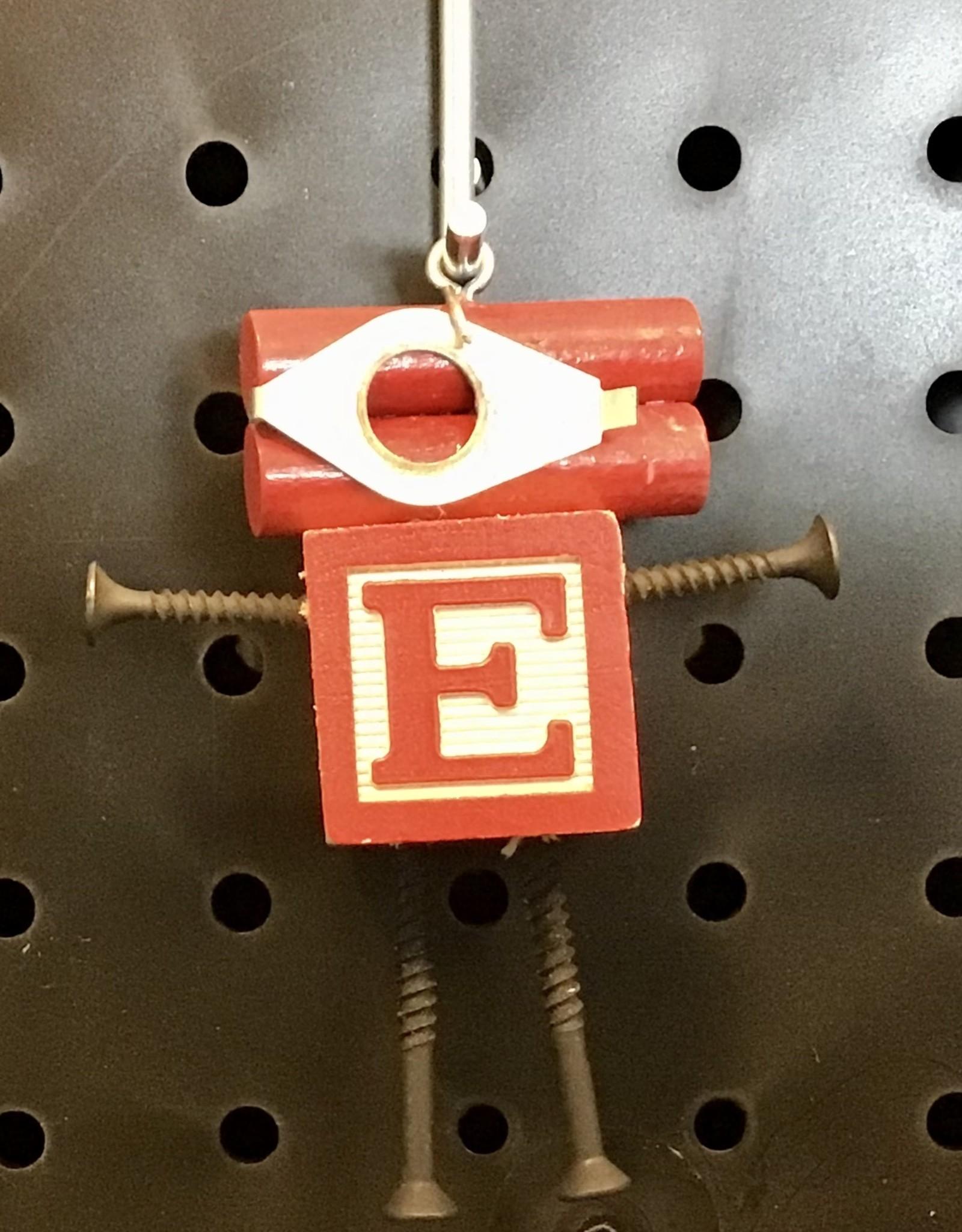 Karen Friedstrom Alphabits:  Letter E