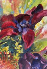 "Jennifer Cook-Chrysos Chrysos Designs Artworks, ""Celebration"", oil on canvas, 11 x 14, framed"