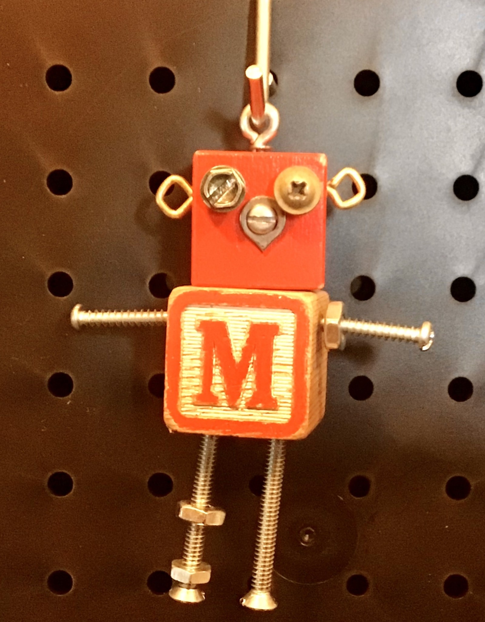 Karen Friedstrom Alphabits:  Letter M