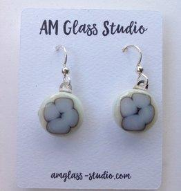 Ann Mackiernan Fused Glass Earrings Medium - M18