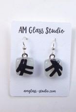 Ann Mackiernan Fused Glass Earrings Medium - M19