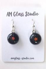 Ann Mackiernan Fused Glass Earrings Small - S7