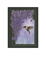 Kelly Casperson Garden Jewel / framed print
